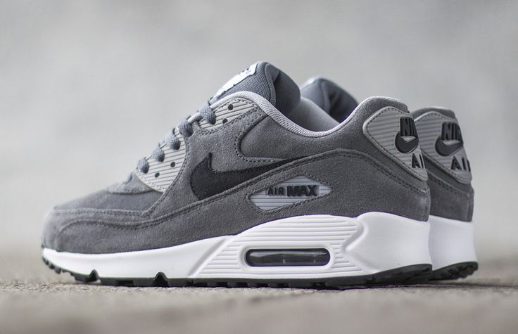 "Nike Air Max 90 Premium ""Grey & Anthracite"""