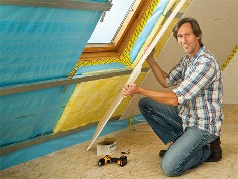 dachausbau neuer platz unterm dach dachboden in 2019. Black Bedroom Furniture Sets. Home Design Ideas