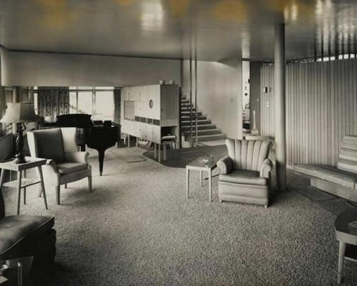Wermuth House, Fort Wayne, Indiana By Eliel Saarinen