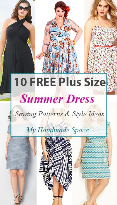 Summer dress plus size patterns