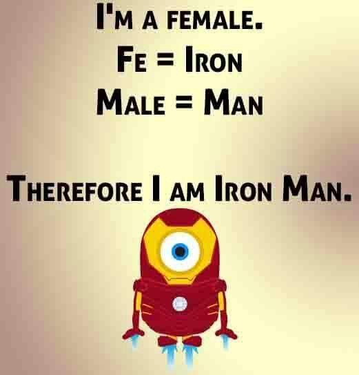 iron man minion joke - Google Search