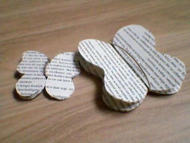 Vlinders van oude boeken