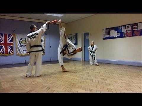 ▶ Soo Bahk Do / Tang Soo Do Kick Workout / Drills - YouTube