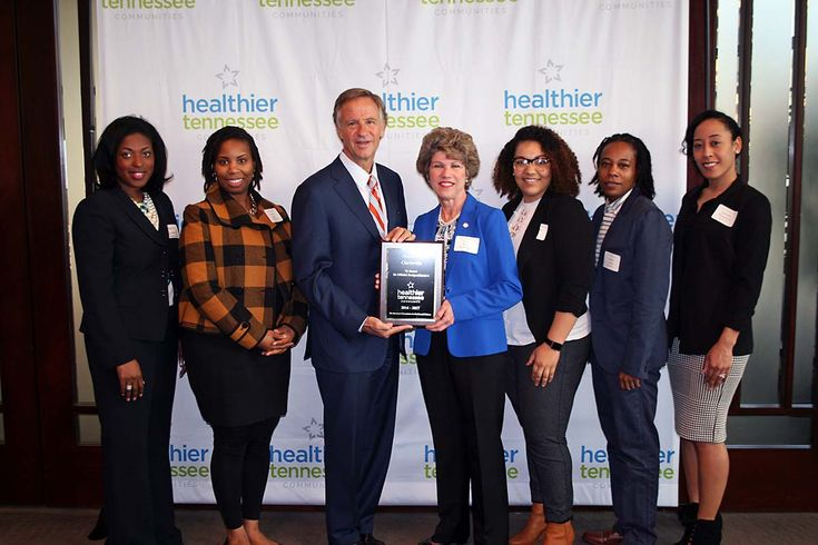 Clarksville applauded by Governor Bill Haslam as Healthier Tennessee Community