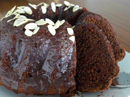 Amazing Lenten 'Chocolate' sponge Cake