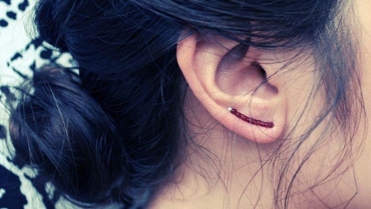 All The Good Girls Go To Heaven: ☩DIY☩ Ten Minute Earrings