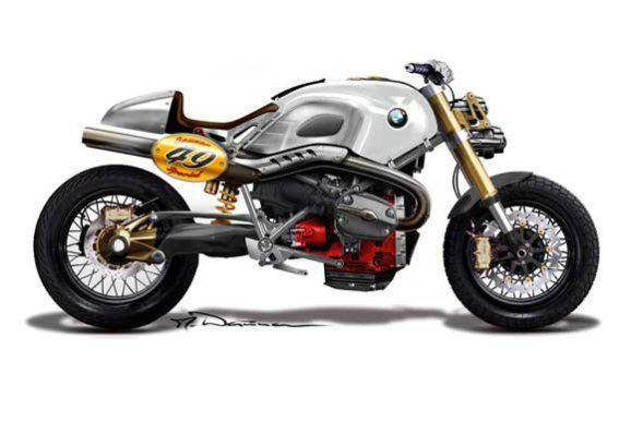 Überraschendes Concept-Bike: die BMW Lo Rider.