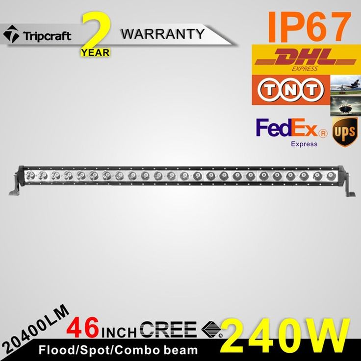 190 09 Watch Now Http Ali3dr Worldwells Pw Go Php T 32736766935 46inch 240w Led Light Bar High Power Auto Driving Light Waterproof For Truck Led Spo Moti
