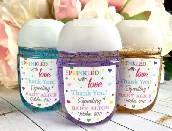 Sprinkled With Love Baby Shower Favor Baby Sprinkle Favor Label