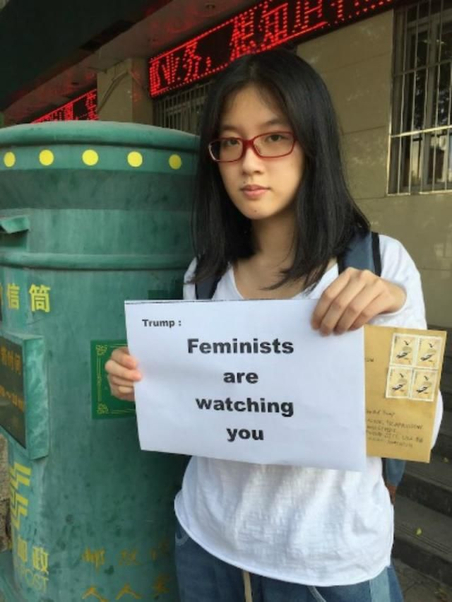 Chinese Feminist Warns Donald Trump of His 'Straight Man Cancer Behaviors'