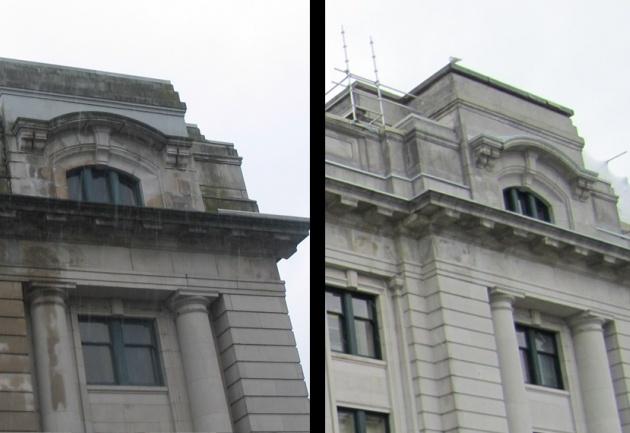 Restauration de la gare de Vancouver, une gare ferroviaire patrimoniale