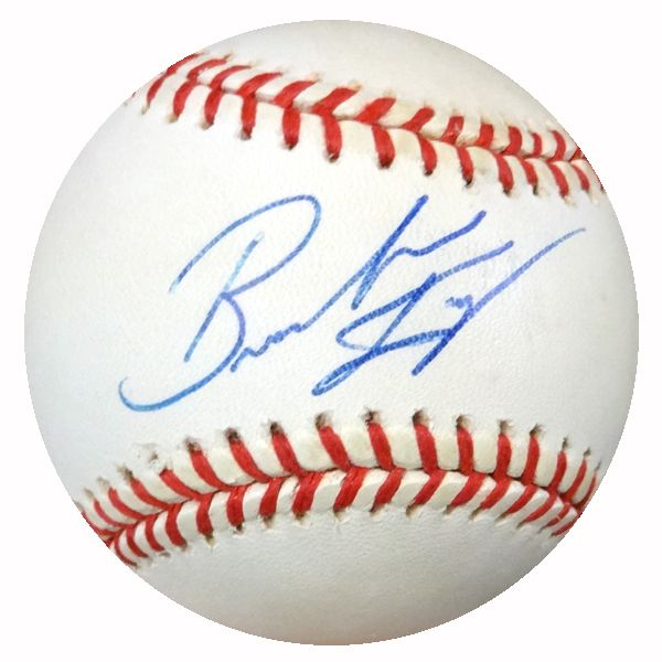 Brandon Knight Autographed AL Baseball Yankees, Mets PSA/DNA #Y29971