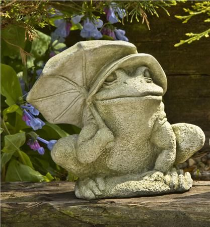 Bumbershoot Frog Statue What Is A Bumpershoot Is Another Way To Say  Umbrella. The Bumbershoot Garden Frogs Comes In 12 Finishes And Ships For  Free.