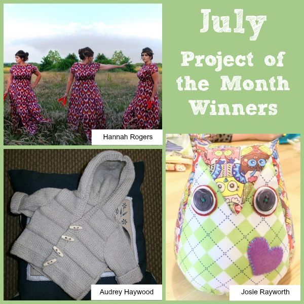 Aril Project of the Month Challenge Winners