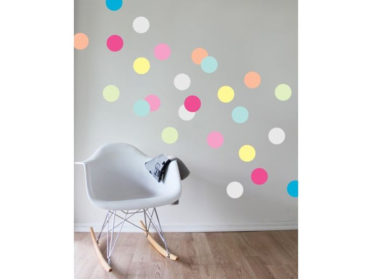Gelato dots removable wall mural stickers