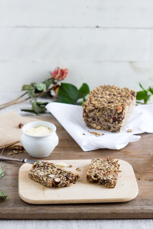 Life Changing Bread ohne Mehl und ohne Hefe // Life Changing Bread without flour and without yeast
