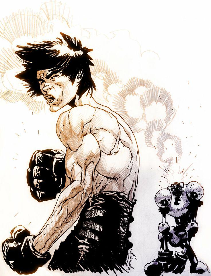 Bruce... #art #martial arts #brucelee