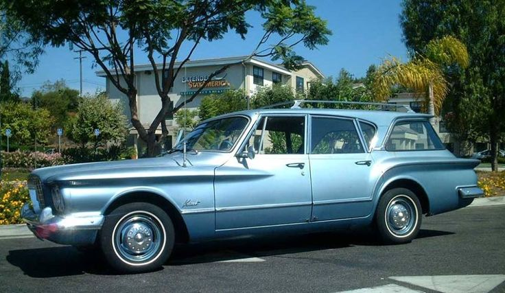 1960 Plymouth Valiant Station Wagon