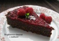Obłędne mocno czekoladowe brownie na mące kokosowej. Bezglutenowe, bezlaktozowe. Idealne :)