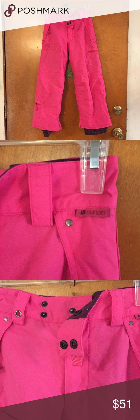 Burton ski pants.   Girls.  Pink Burton ski pants.   Girls.  Pink Burton Bottoms