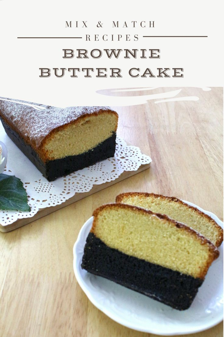 Brownie Butter Cake Recipe Butter Cake Brownie Butter Cake Recipe Cake
