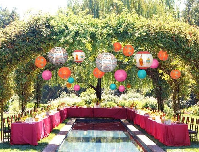 Tips on creating an eid party for adults gardens eid for Adult birthday party decoration