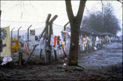 The fence at Greenham Common