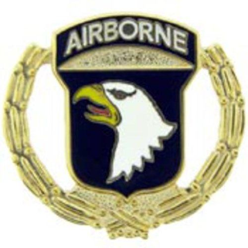 "U.S. Army 101st Airborne with Wreath Pin 1"" by FindingKing. $8.99. This is a new U.S. Army 101st Airborne with Wreath Pin 1"""