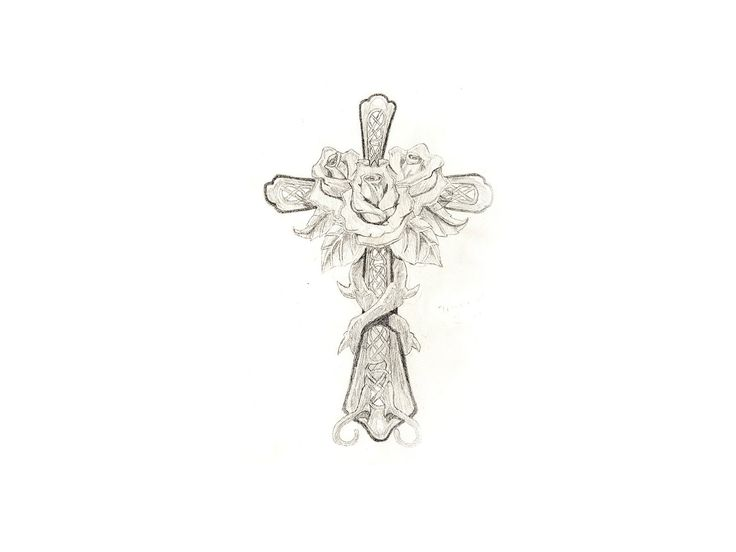 cross with flowers tattoo free designs roses on the cross tattoo wallpaper tatts. Black Bedroom Furniture Sets. Home Design Ideas