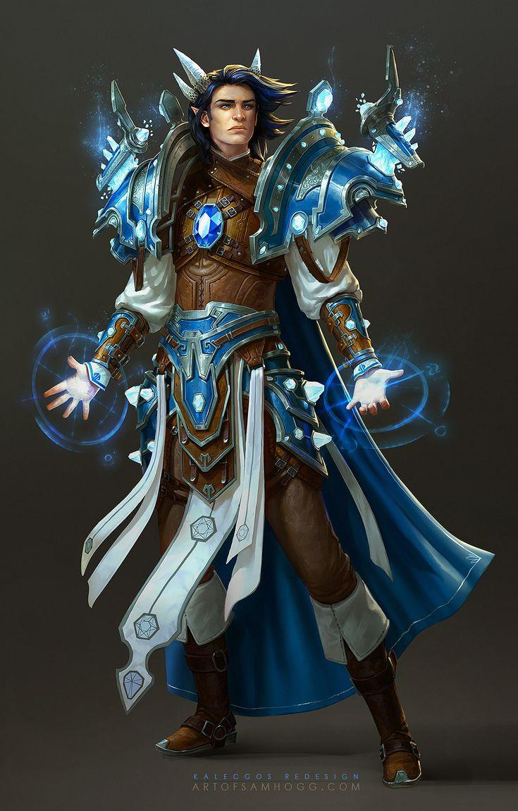 Kalecgos Aspect of Magic Redesign by Zephyri on DeviantArt