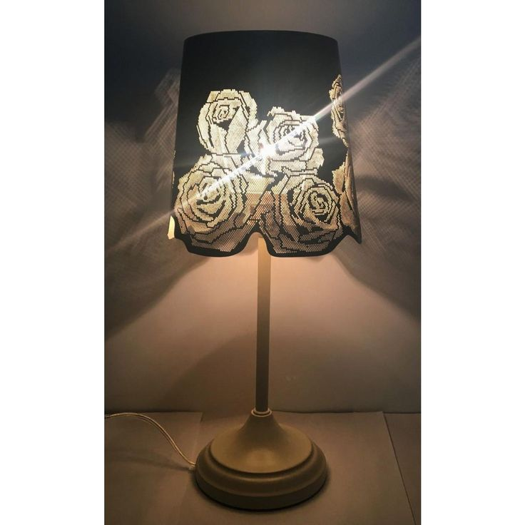 """Up to 70%off,extra 10 % off code:summer10,FREE SHIP15"""" Hollowed-out Metal Rose Antique White Table Lamp  $24.98 https://www.kanstarus.com/products/15-hollowed-out-metal-rose-antique-white-table-lamp?utm_campaign=outfy_sm_1502425021_918&utm_medium=socialmedia_post&utm_source=pinterest"""