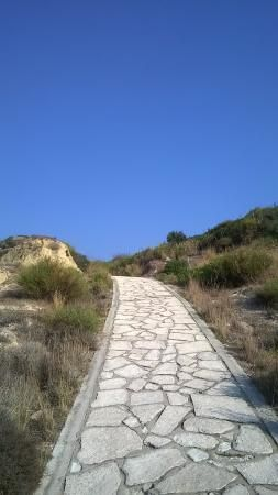 EU path from end of Kardamena to Antimachia Castle