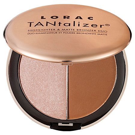 Use it to do contouring along your nose & cheekbones. LORAC TANtalizer® Highlighter & Matte Bronzer Duo | @LOOKMATIC lookmatic.com lookmatic.com lookmatic.com