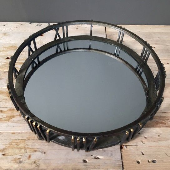 Design Μεταλλικός Δίσκος Γάμου Ρολόι Με Καθρέφτη http://nedashop.gr/Spiti-Diakosmhsh/diskoi/diskos-gamoy-roloi-kaurefths