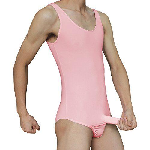 iEFiEL Sexy Herren Körperformung Stringbody Overall Männer Body Unterwäsche Weste Unterhemd Dessous mit geschloßener Penishülle (M, Rosa) iEFiEL http://www.amazon.de/dp/B012A46FFC/ref=cm_sw_r_pi_dp_u0Wswb1HH7VE8