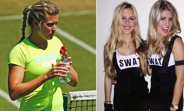 Bouchard shares sexy picture of her and twin sister Beatrice