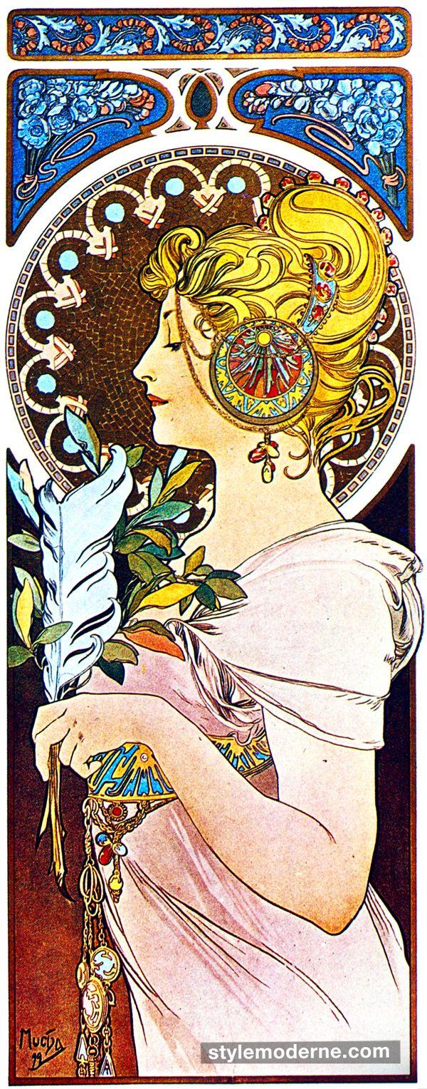 Jimbo's Japan: Art Nouveau アール・ヌーヴォー-----LOVE ALL  http://stores.ebay.ca/allssgood