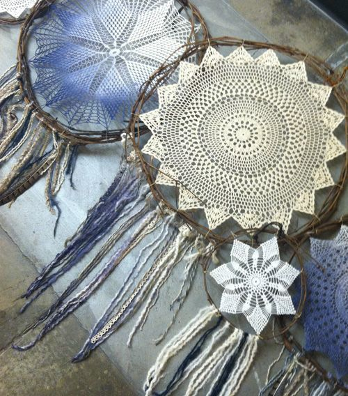 17 best images about dream catcher on pinterest tassels for How to tie a dreamcatcher web