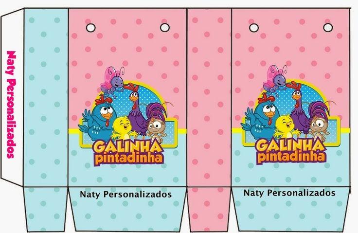 OLÁ AMIGAS!   Outro lindo kit da Galinha mais amada do Brasil, enviado pela nossa amiga Natália Guimarães .   Um lindo kit em rosa e azul.  ...
