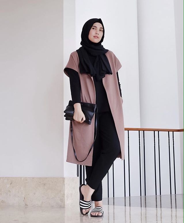 Best 25 Ootd Hijab Ideas On Pinterest Hijab Outfit Casual Hijab Styles And Hijab Casual