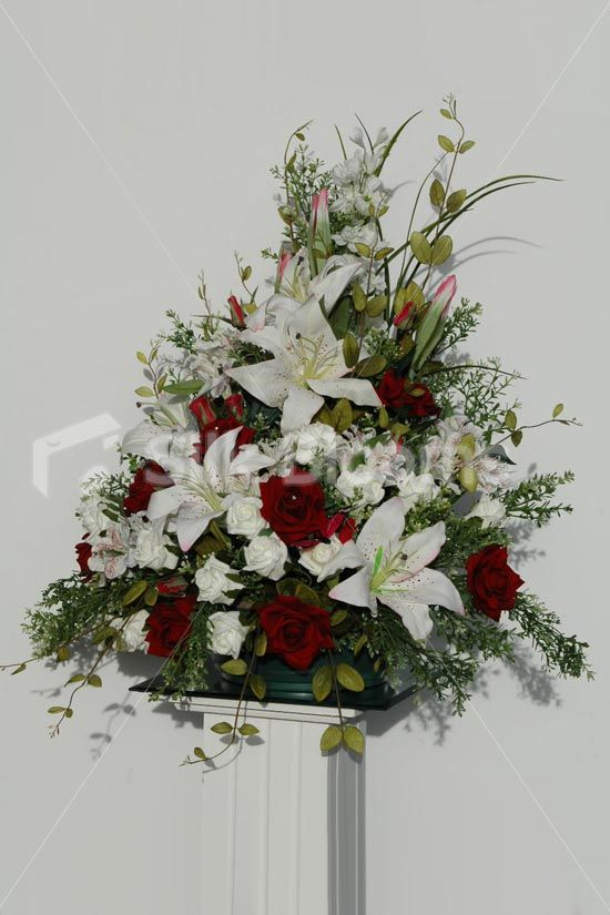 Easter Floral Arrangements for Church | ... Church Display [Mags - Church] - £149.99 : Silk Wedding Flowers, by