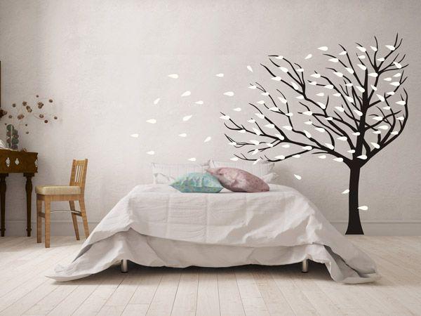 28 besten wandtattoo b ume tipps und ideen bilder auf. Black Bedroom Furniture Sets. Home Design Ideas