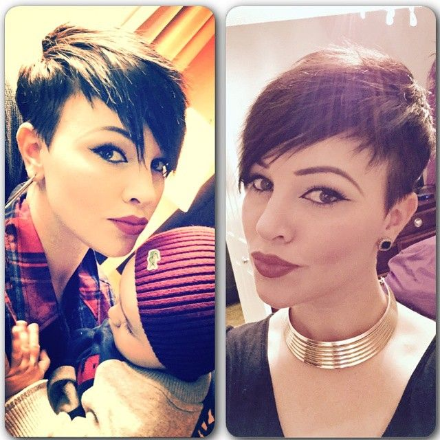 Asymmetric short haircuts for ladies that want to stand out