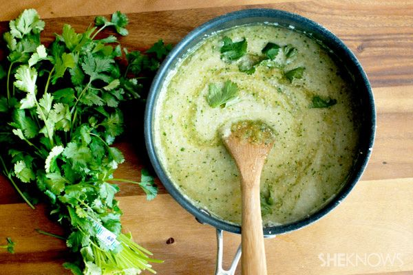 ... creamy cheesy grits with green chiles the creamy cheesy grits with