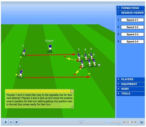 Training Exercises: Soccer Training Exercises
