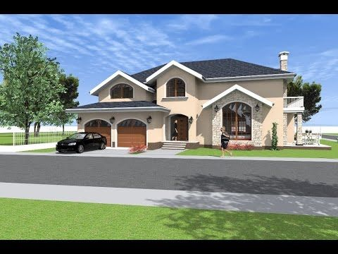 House design software used: Artlantis + Archicad. 360 square meters, 387...