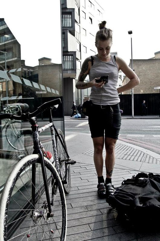 The Lowdown on Being a Female Bike Courier