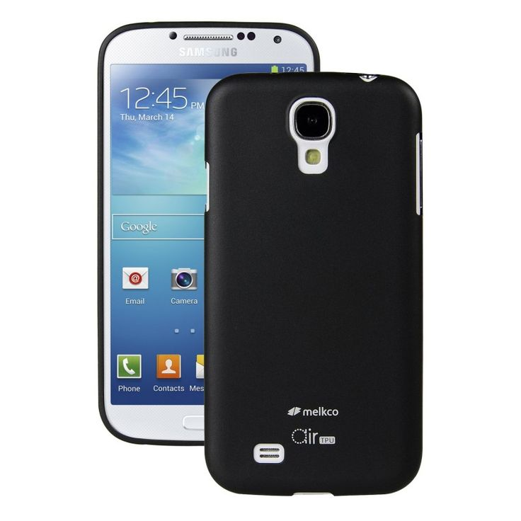 Melkco Air 0,5mm TPU [Black], Ultra-cienkie etui dla GALAXY S4