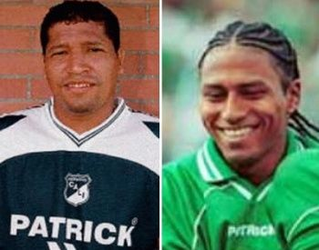 "Hernan ""El Carepa"" Gaviria & Giovanni Cordoba QEPD 2002- Deportivo Cali"