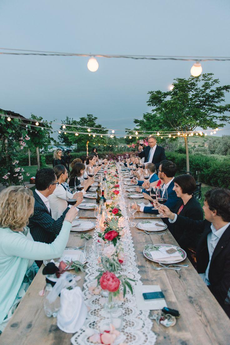 25 beste idee n over toscaanse bruiloft op pinterest potplant pronkstukken kruid - Deco lange idee gang ...